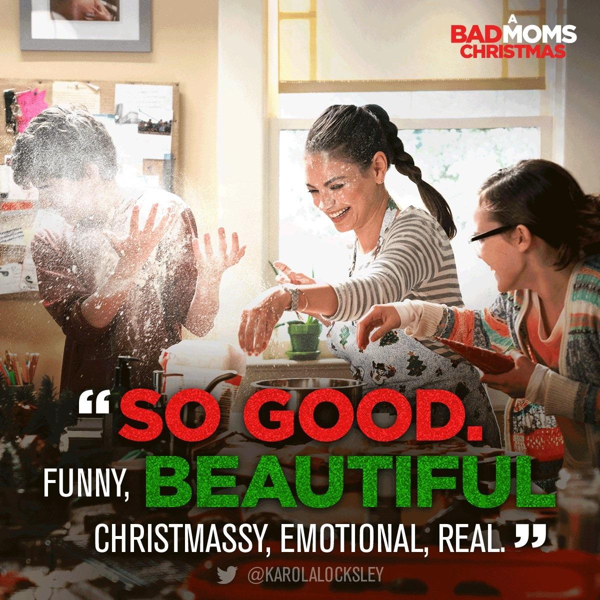 Bad Moms Christmas Poster.A Bad Moms Christmas Surprisingly Heartwarming