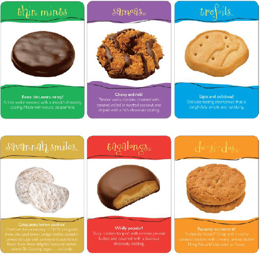 history of girl scout cookies sales